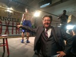 Glenn as the Boxing Manager in Tom King